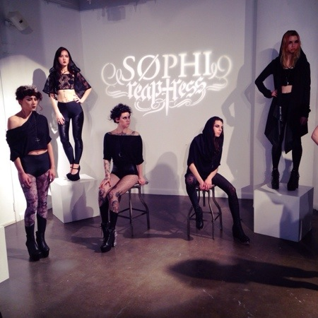 Sophi Reaptress at Lingerie Fashion Week Fall/Winter 2014