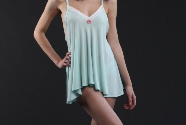 Come Out & Play Babydoll in Bamboo/Dawn by Between the Sheets