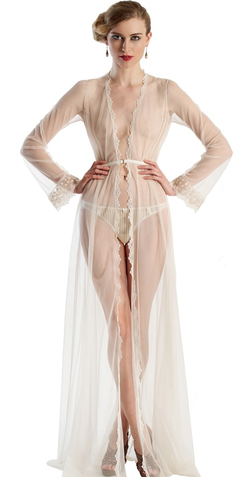 Clair de Lune Robe by Angela Friedman ($295)