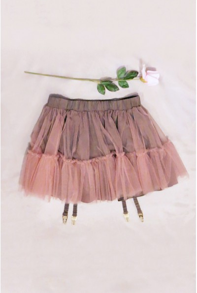 Gartered Pettiskirt ($185) (XS/S and M/L) by she and reverie