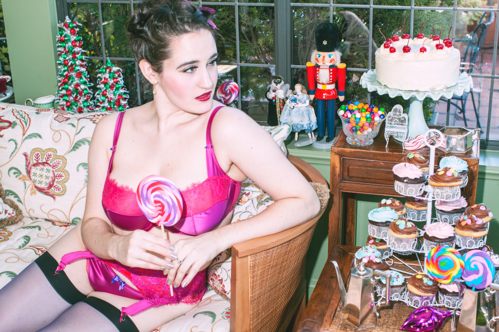 The Sweet Nothings Holiday Edit- The Nutcracker. Lingerie by Tutti Rouge, Dita Von Teese, Kiss Me Deadly, photo by Lydia Hudgens.