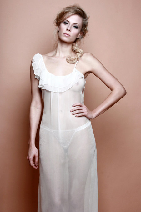 Tallulah Ivory Gown ($115) (S-XL) by LaLilouche