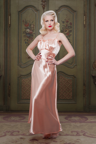 Peach Bettie Nightgown by Betty Blue's Loungerie
