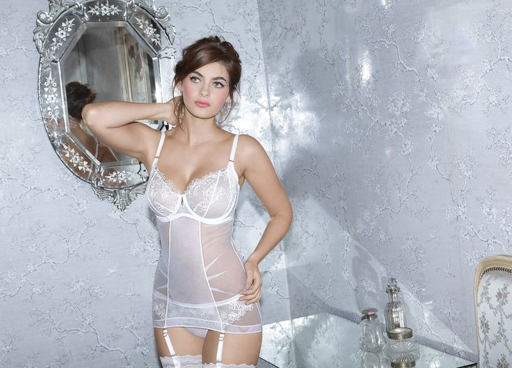 Bridal collection in Champagne by Adina Reay, 32-36 DD-G. £130 (about $199)