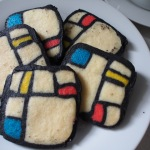 The Art of (Baking and) Lingerie: Mondrian Cookies