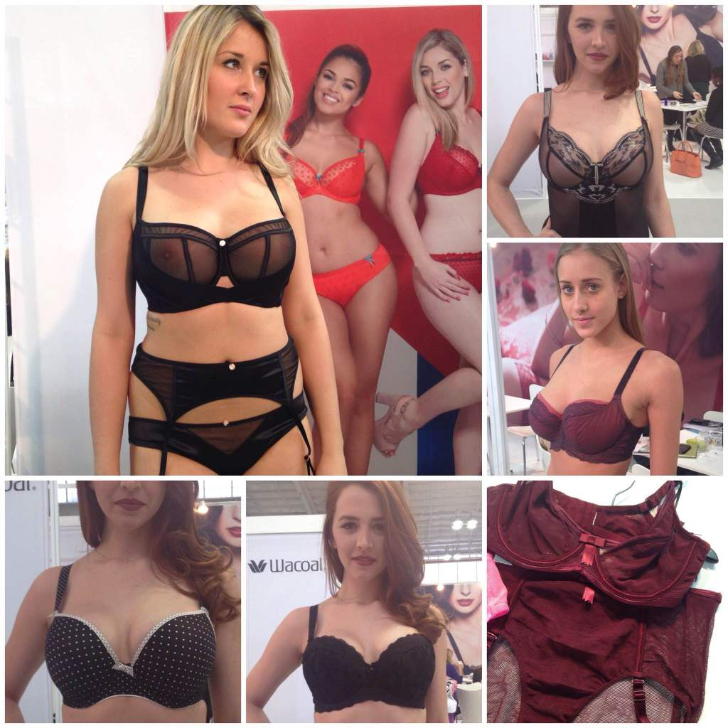 Clockwise from top left: Scantilly, Freya 'Vixen', Panache 'Georgia', Claudette 'Fishnet' in Rouge Noir, Fantasie 'Mae', Freya 'Deco Spotlight'