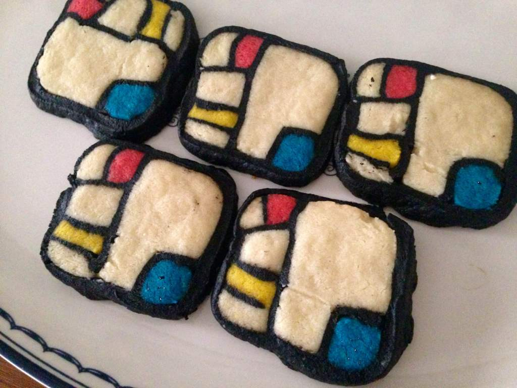 Mondrian Cookies- Sweet Nothings x The Lingerie Lesbian