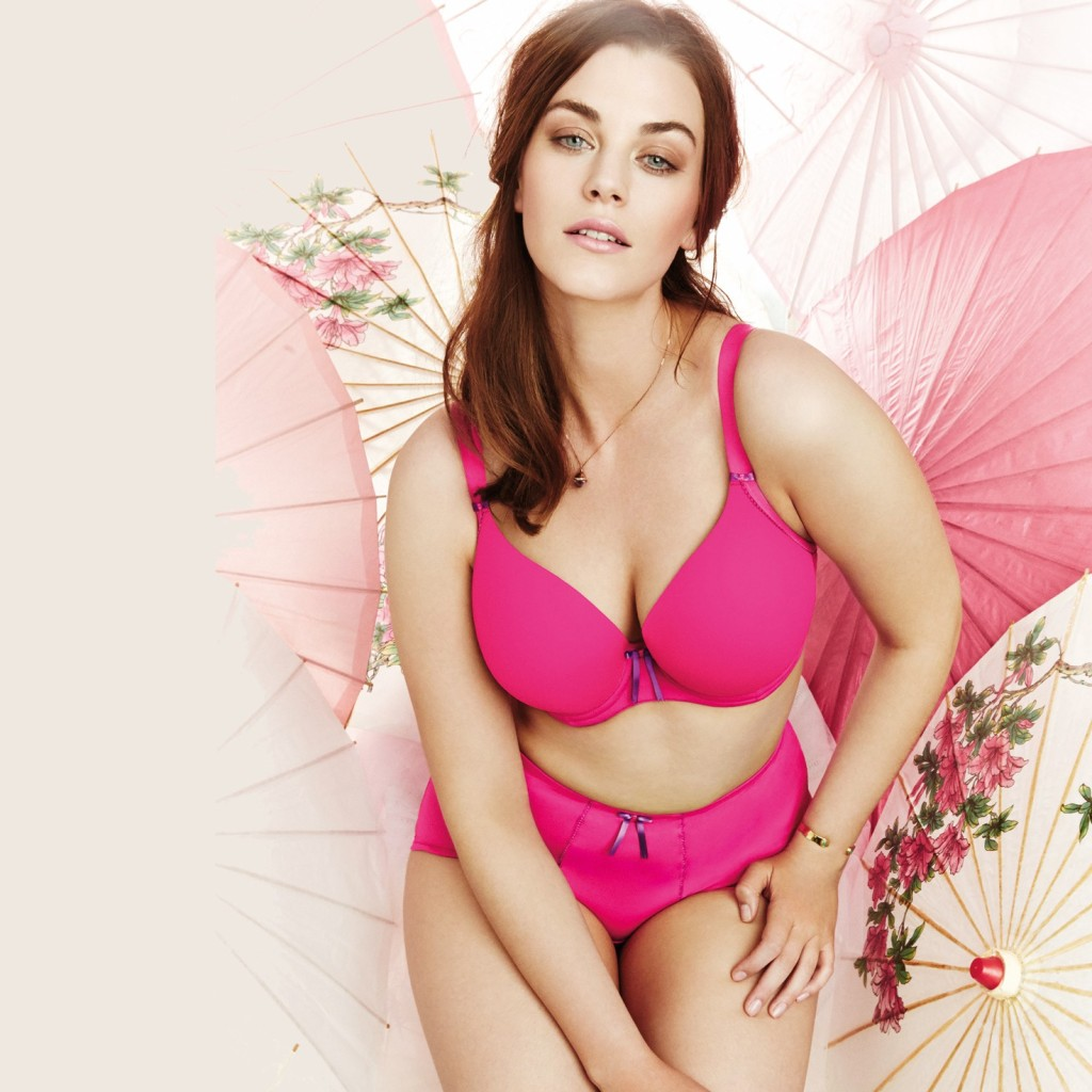 Bijou by Elomi in Hot Pink.  34 F-H, 36-42 E-H, 44 E-G