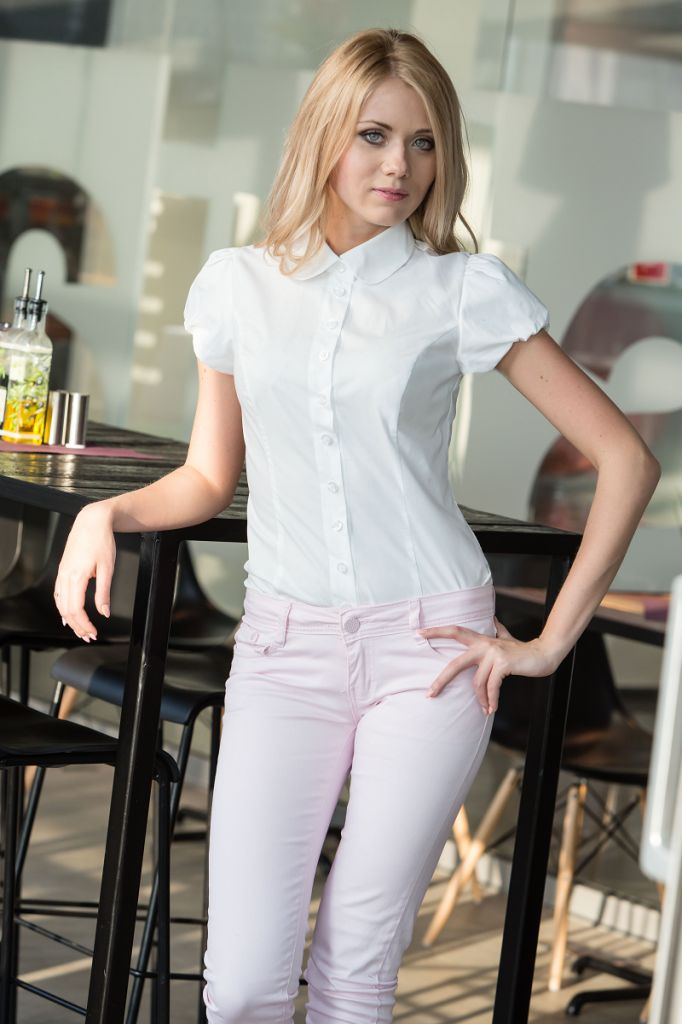 Belle White Shirt by Biu Biu
