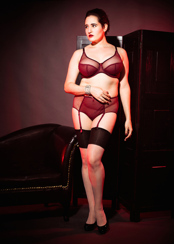 Sweet Nothings reviews Claudette Fishnet Rouge Noir
