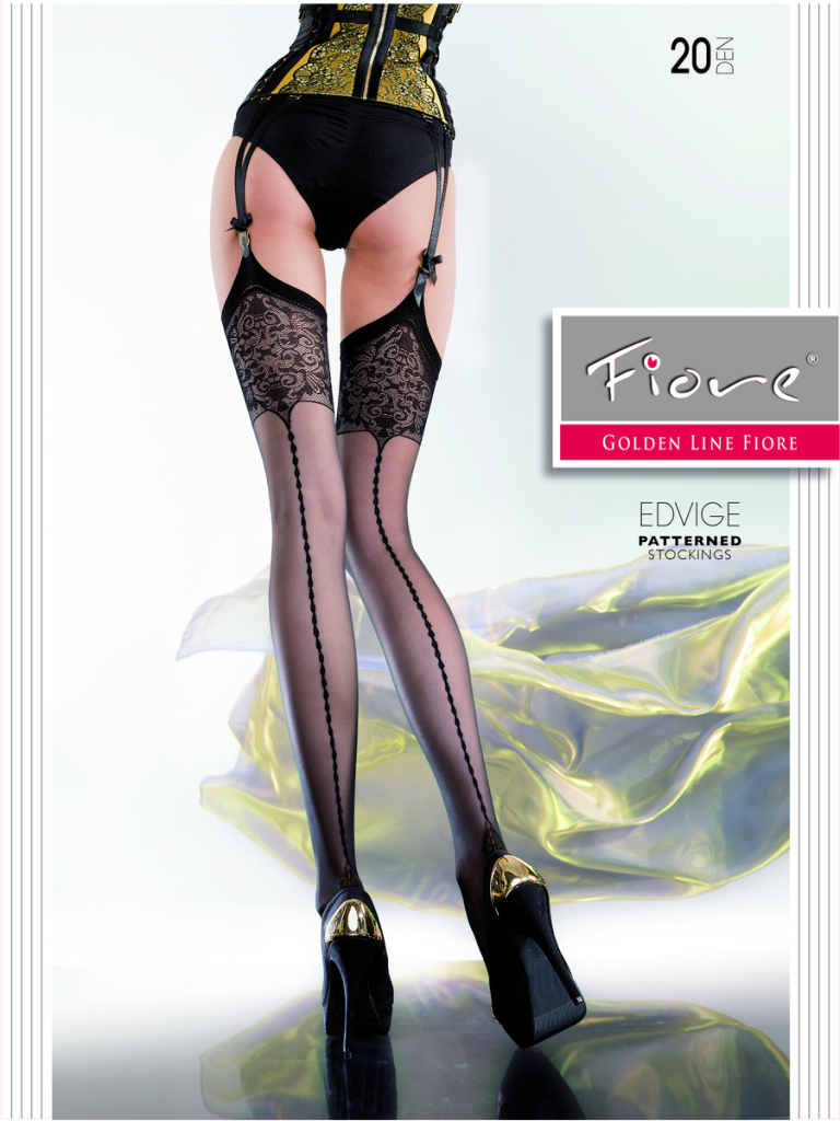 Fiore Evidge Seamed Stockings, sizes 2, 3, 4