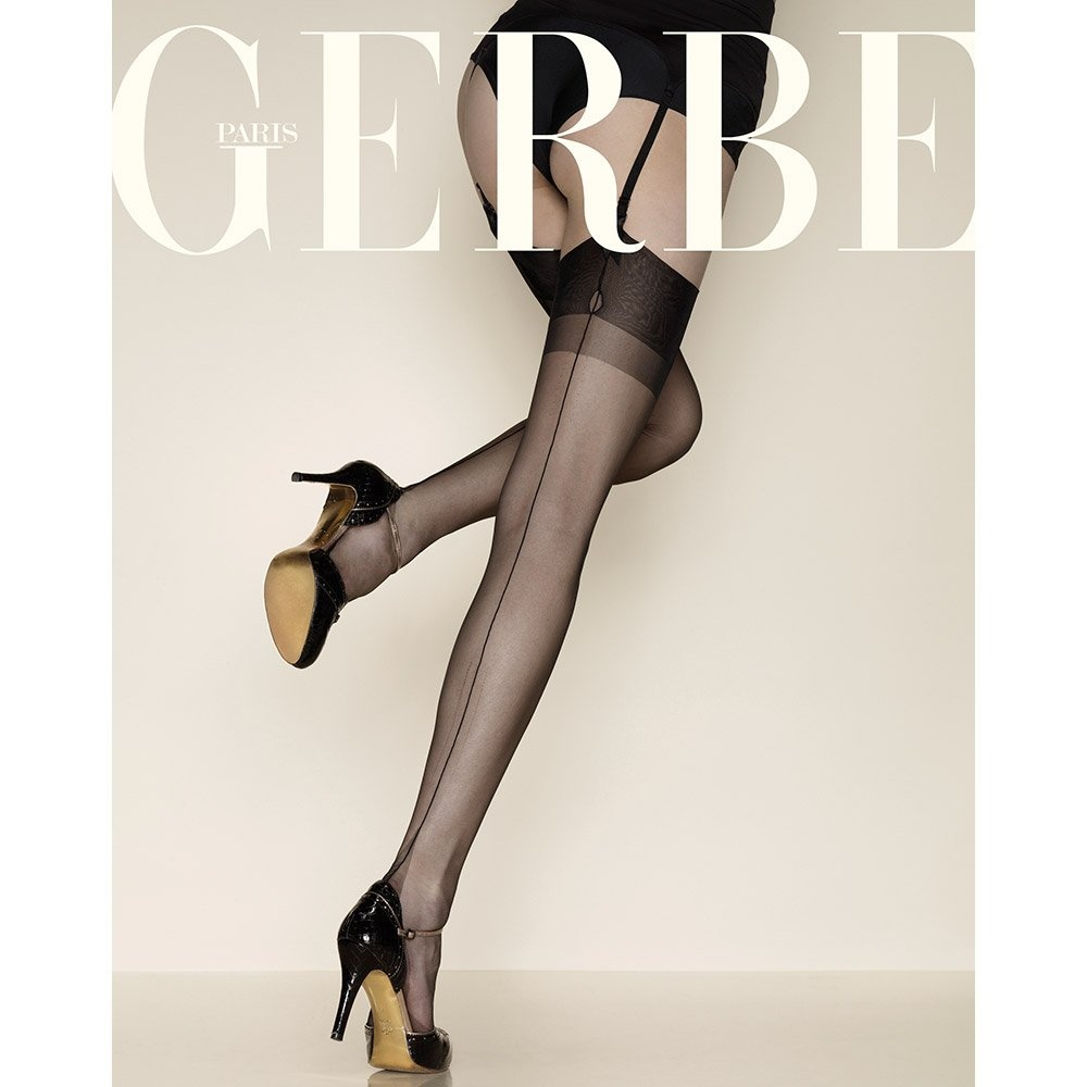 Gerbe Carnation Fully Fashioned Stockings, XS-XXXL