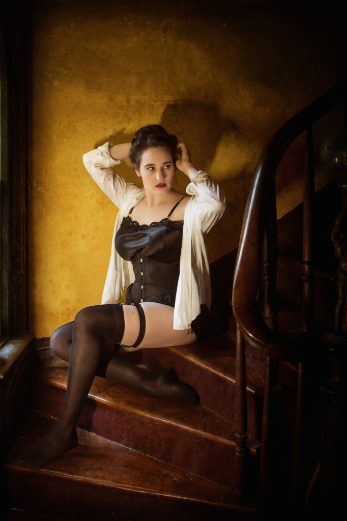 Sweet Nothings Holiday 2015: Women of Mystery- Irene Adler. Photo: Steven Rosen Photography