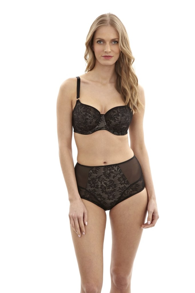 Panache Idina Bra and High-Waist Brief, 30-38 D-J, XS-XXL