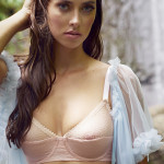 Pantone Color of the Year 2016: Lingerie Sets in Rose Quartz/Serenity