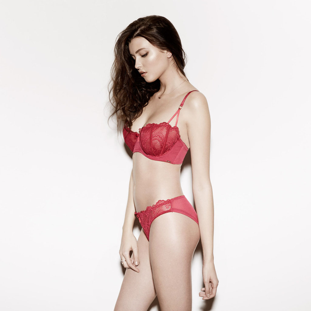 More by Bluebella Lucia Bra and Brief in Raspberry