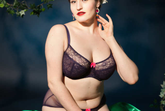 Sweet Nothings reviews Claudette Darling Bra and Brief. Photo: Studio Rezin