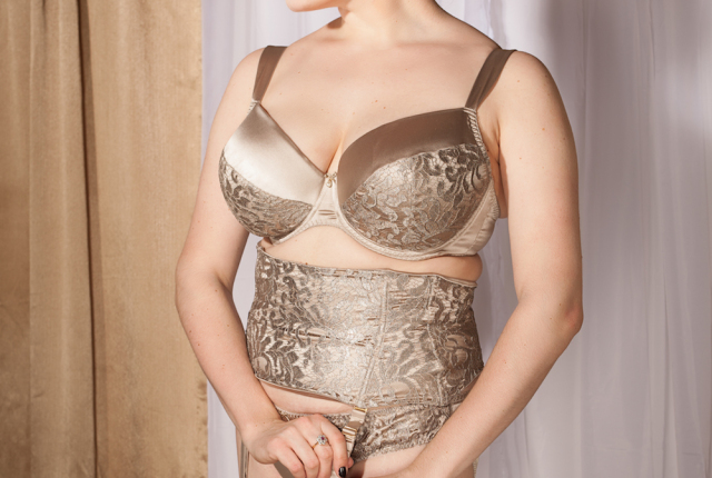 Sweet Nothings reviews Harlow & Fox Alexandra Bra, Brief, and Waist Cincher. Photo: Studio Rezin