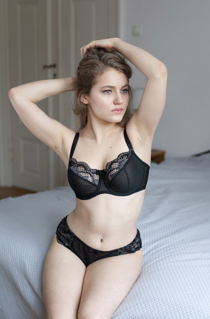 Avocado Lingerie Lorca Black