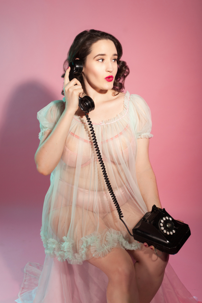 Sweet Nothings reviews Dottie's Delights Sugar Candy Babydoll. Photo (c) Studio Rezin