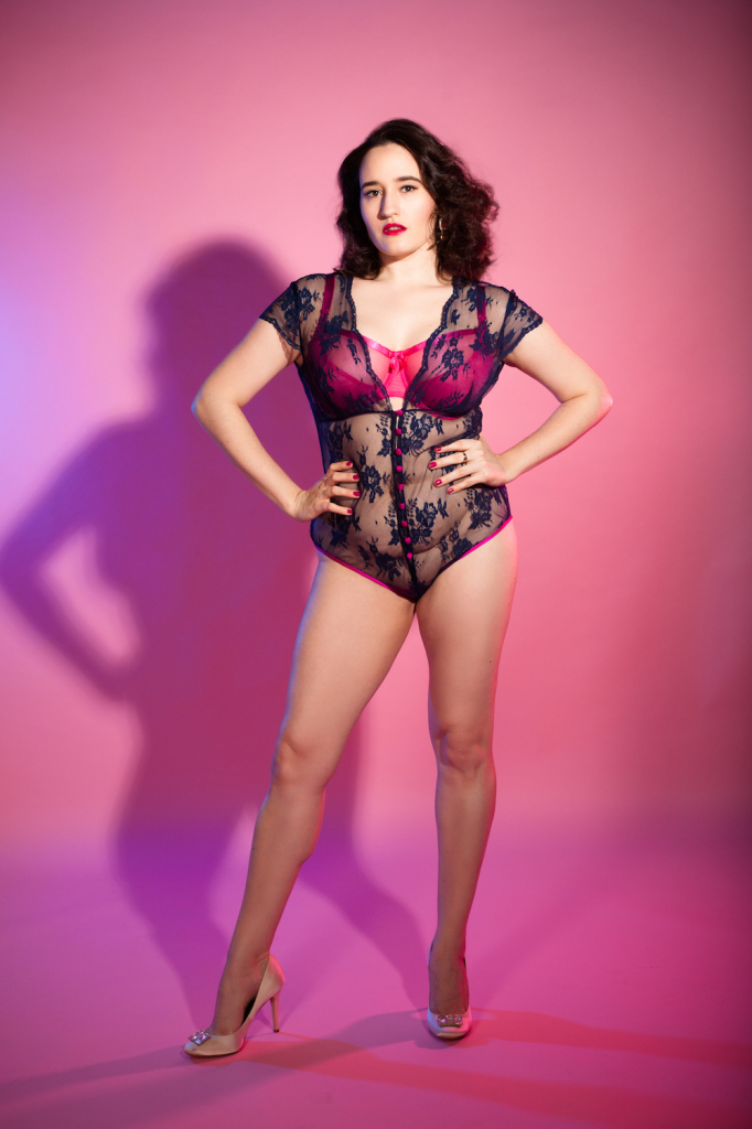 Sweet Nothings reviews Sonata Rapalyte Custom Elektra Bodysuit. Photo (c) Studio Rezin