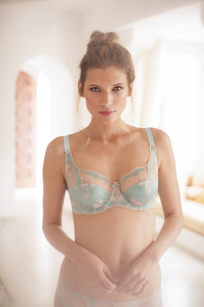 Panache Clara in Duck Egg Blue