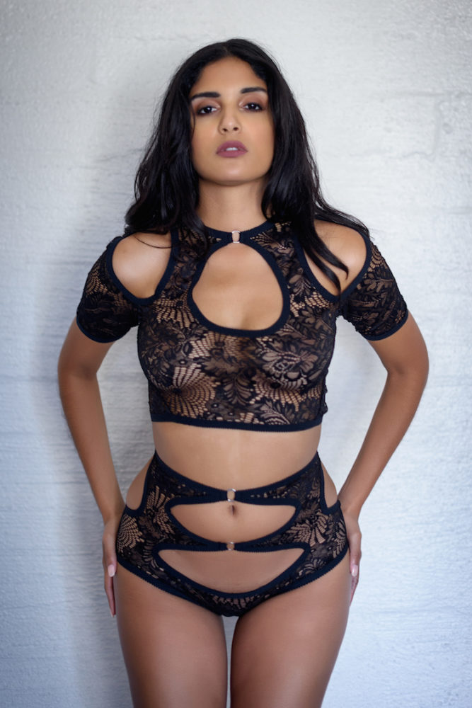 Hopeless Dana Lace Top and Brief at Anya Lust