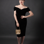 Review: The Pretty Dress Company Fatale Black Velvet Pencil Dress