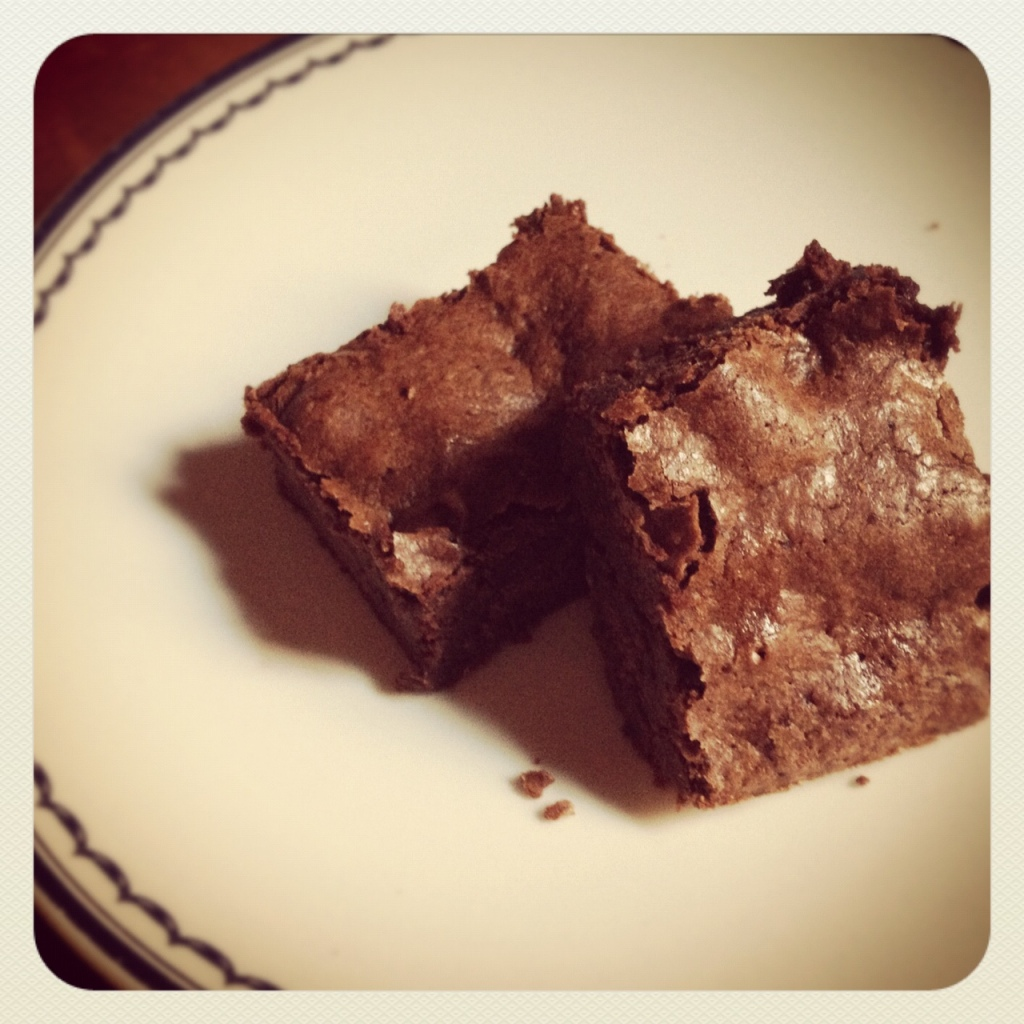Spicy brownies