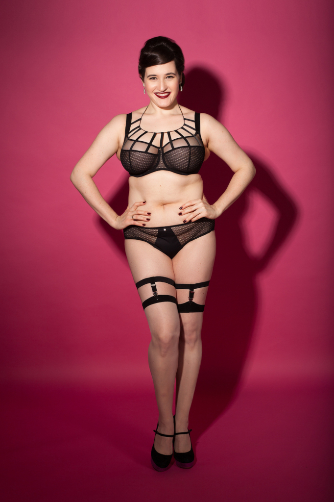 Sweet Nothings reviews Avocado Lingerie's Ce Soir Bra and Brief. Photo (c) Michi Rezin
