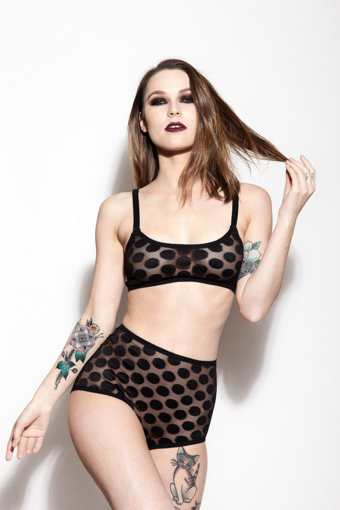 Nancy Cami and Jeannie Knickers by Hopeless Lingerie