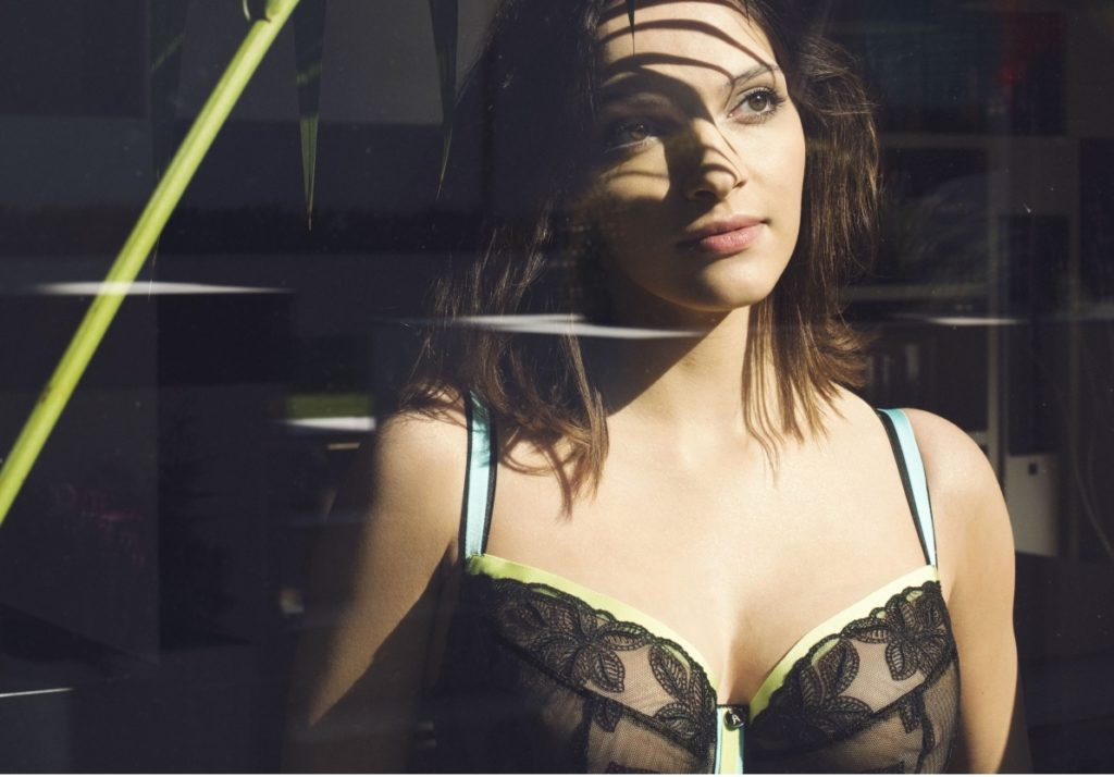 Avocado Lingerie Alhambra Bra in Black