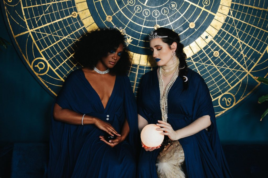 Celestial Goddesses- Sweet Nothings x Lingerie Addict. Photo (c) Sylvie Rosokoff