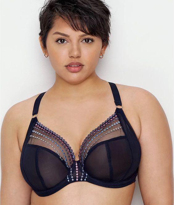 Elomi Matilda Plunge Bra, 32-46 band sizes and D-JJ cup sizes