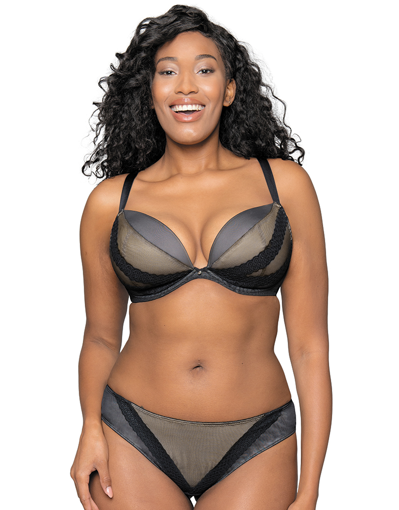 Curvy Kate Superplunge Lace Bra, 28-40 band sizes and D-J cup sizes