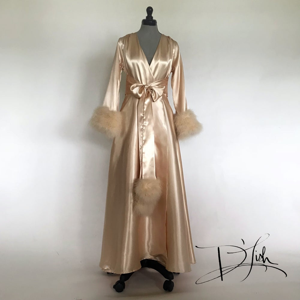 Boudoir by D'Lish Beverly Gown in Spun Gold