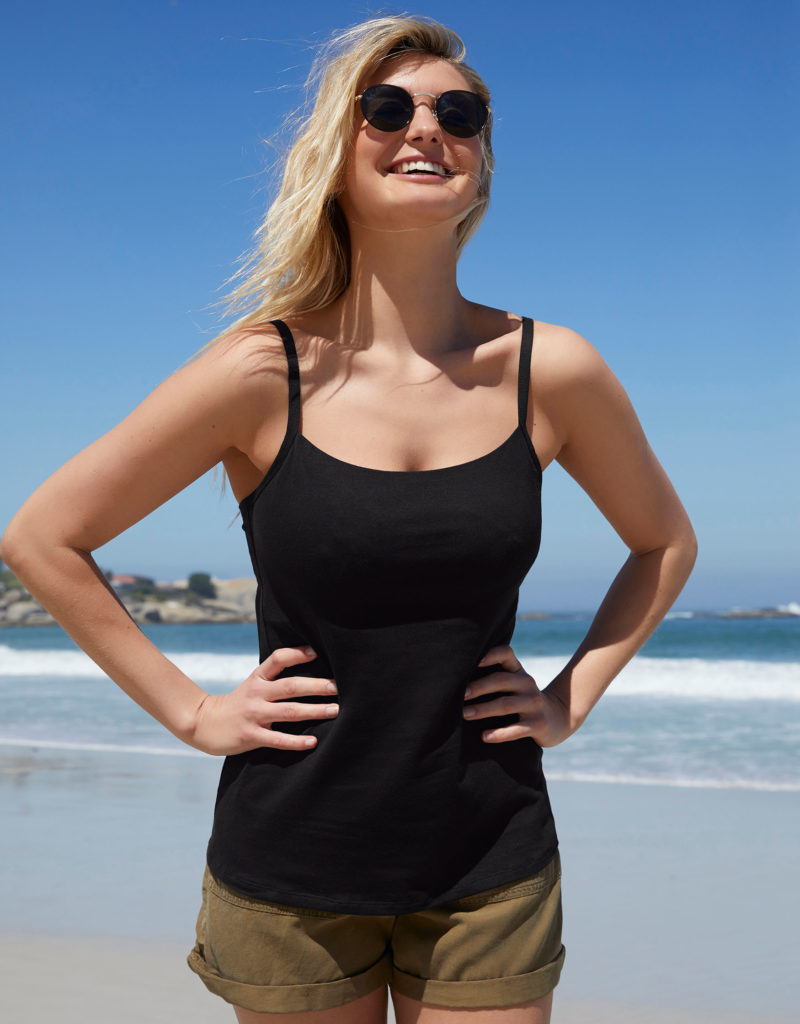 Bravissimo Tank Top with Built-in Bra, 30-38 band sizes and DD-J cup sizes