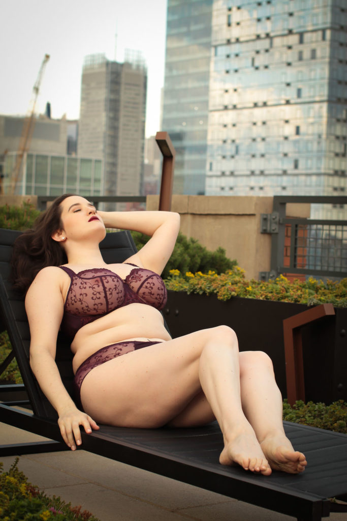 Sweet Nothings wears Empreinte Carmen Bra and Brief. Photo (c) Whitney Green