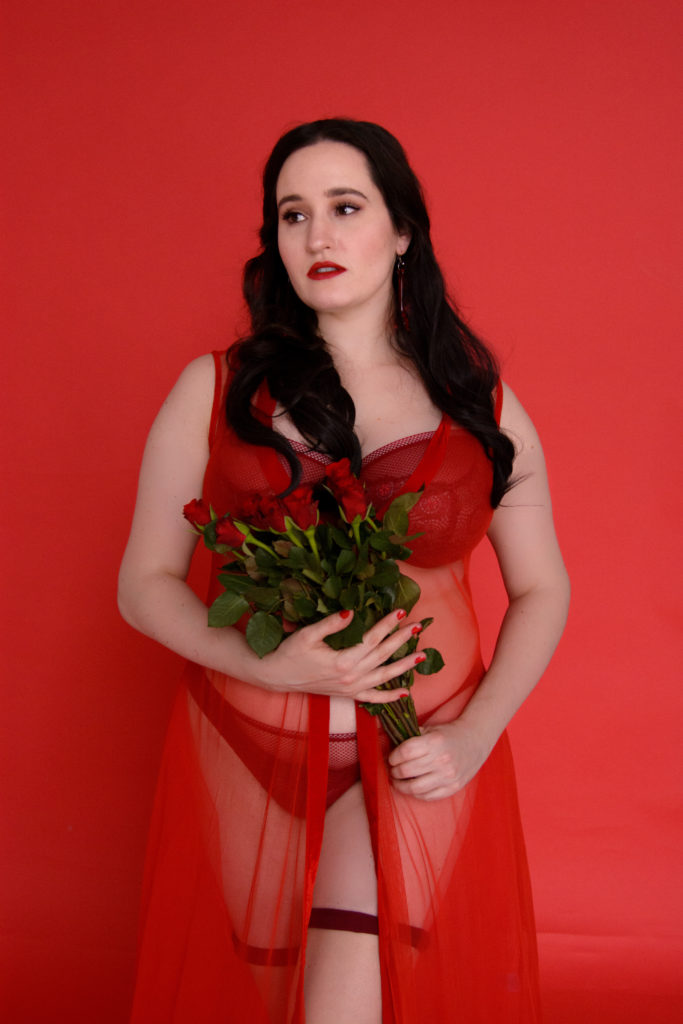 Sweet Nothings wears Freya 'Expression' and Anya Lust 'Goddess of Love' for Valentine's Day 2020. Photo (c) Tessa Flannery