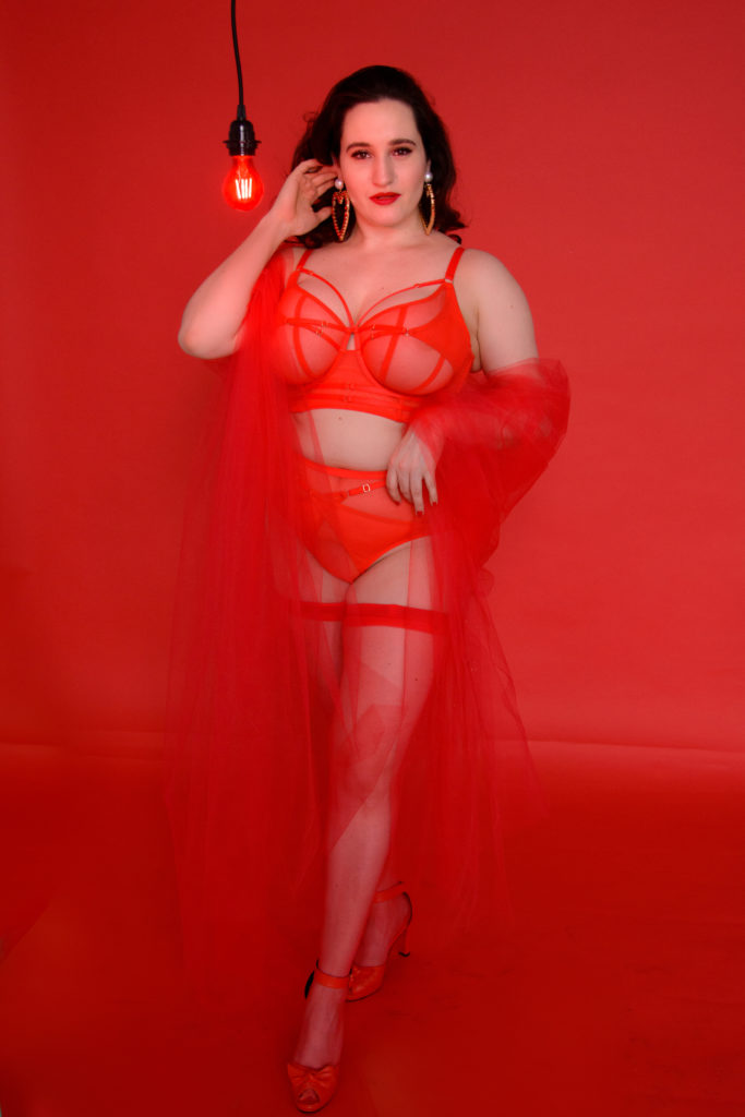 Sweet Nothings wears Playful Promises Eddie for Valentine's Day 2020. Photo (c) Tessa Flannery
